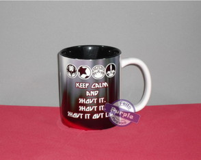 Caneca Cerâmica - Keep Calm And Shout It