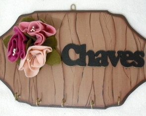Porta Chaves Flores