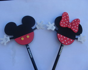 Ponteira Mickey e Minnie