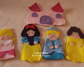 Kit Dedoches Princesas