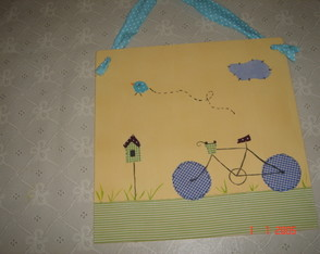 Quadrinho infantil BIKE