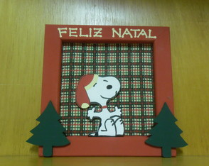 Quadrinho Feliz Natal do Snoopy