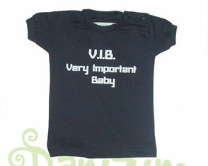 T-Shirt Bb M. Curta VERY IMPORTANT BABY