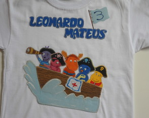 Camiseta Backyardigans Pirata