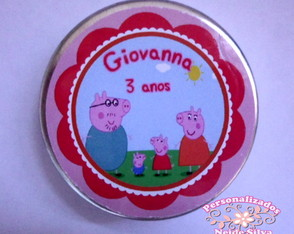 Latinha Mint to Be Peppa Pig