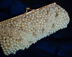 Clutch Pérolas Design