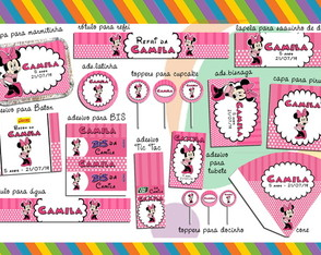 kit-digital-minnie-rosa-14-itens-minnie