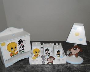 Kit Higiene Baby Looney Tunes