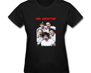 Camiseta Baby Look One Direction