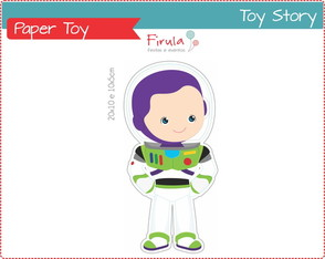 Paper Toy Digital Buzz Toy Story