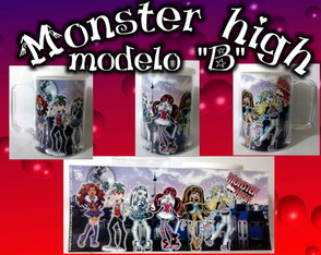 caneca-monster-high-modelo-a-e-b-caneca-festa-monster-high