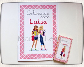 Kit Colorir - Barbie
