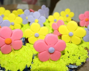 Cup cake flor