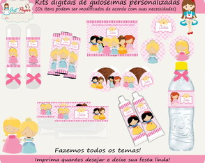 Kit de guloseimas Princesa digital
