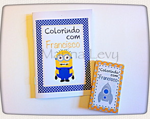 Kit Colorir - Minions