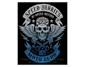 Placa Retrô Mdf Speed Junkies - 768