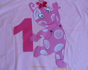Camiseta Backyardigans Pablo-Uniqua