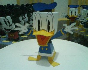 Paper Toy 3D Pato Donald