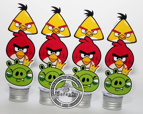 Tubetes Angry Birds