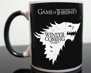 Caneca Mágica Game of Thrones Stark