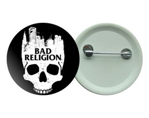 Botton 3,5 - Buton Bad Religion Skull