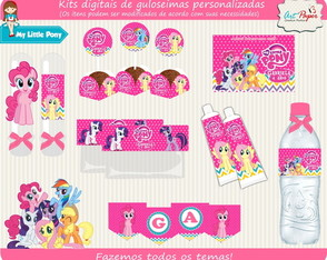 Kit de guloseimas My Little Pony