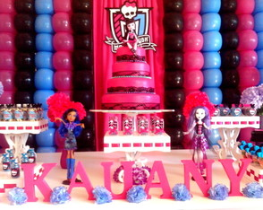 decoracao-monster-high-provencal-clean-aniversario-decoracao-monster-high