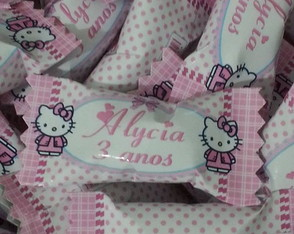 Bala personalizada Hello Kitty