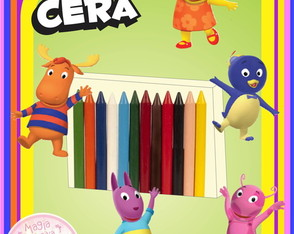 Giz de Cera - Backyardigans