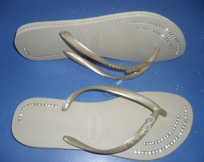 Chinelo Havaiana Slim Customizado