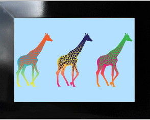 **QUADRO DECORATIVO - POP ART 02