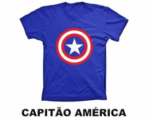 44d0c7cb8 Camiseta Chapolin Camiseta Lanterna Verde Camiseta Capitão América Camiseta  Hulk
