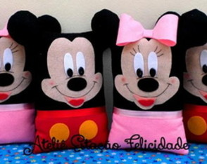 "Almofadas ""Mickey & Minnie"""
