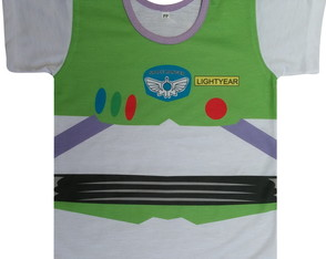 Camiseta infantil Buzz (Toy Story)