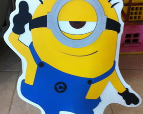 "Display Os Minions ""Meu malvado favorito"