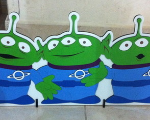 Display Tema Toy Story Personagens