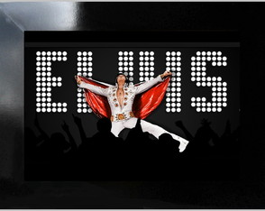 **QUADRO DECORATIVO - ELVIS LIVE