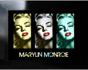 **QUADRO DECORATIVO - MARYLIN