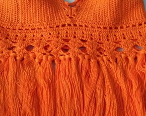 TOP CROPPED LARANJA
