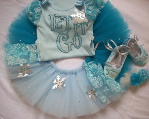 Kit tutu Frozen Elsa