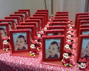 porta retrato da minnie