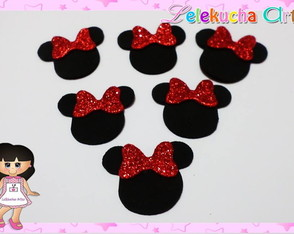 Aplique Minnie pc25 unidades