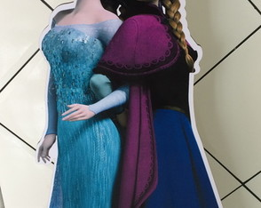 Displays Festa Frozen Personagens