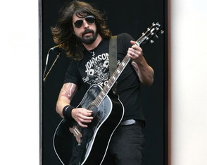 Quadro Foo Fighters (Dave Grohl)
