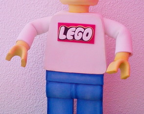 Personagem do Lego