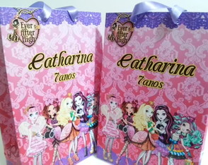 Sacolinha Ever after high - média