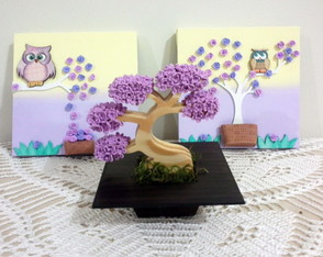 kit-quadro-lilas-bonsai-flor