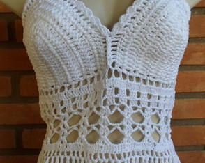 Top Cropped croche