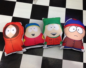 Kit almofadas south park