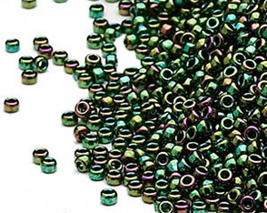 MR15-465 Metallic Rainbow Green